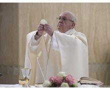 Папа Франциск на Мессе в Доме Святой Марфы призвал не сопротивляться Святому Духу