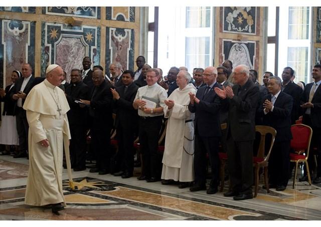Папа Франциск принял представителей монашеской конгрегации, посвятившей себя образованию и делам милосердия