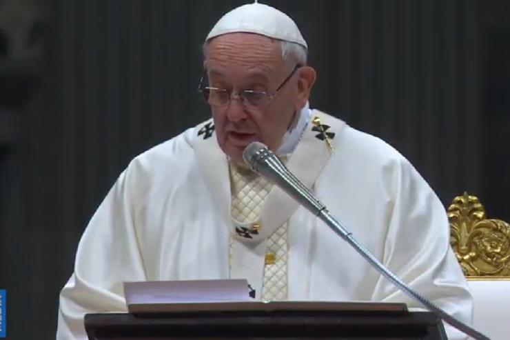 Проповедь Папы Франциска на Мессе Навечерия Пасхи: «Он воскрес!»
