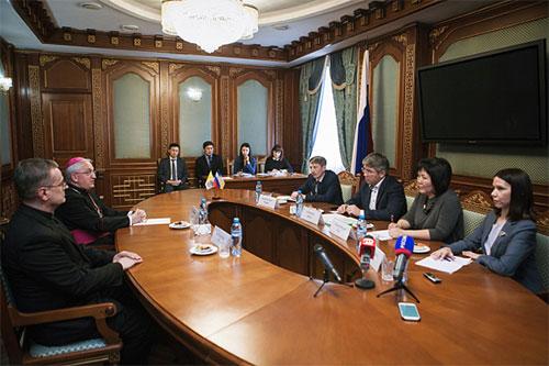 Апостольский нунций в Российской Федерации посетил Бурятию