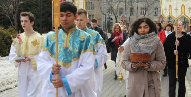 Московские греко-католики отпраздновали Пасху по Юлианскому календарю
