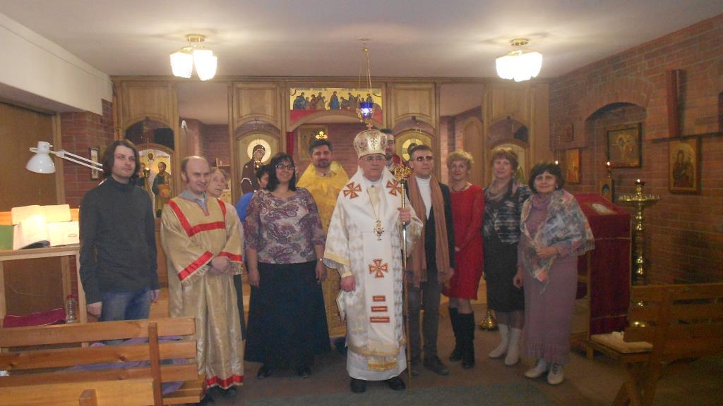 Греко-католики Новосибирска встретили Пасху по Юлианскому календарю