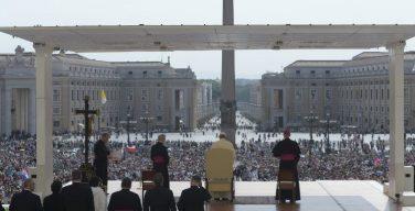 На общей аудиенции 30 мая Папа Франциск продолжил цикл катехез о таинстве Миропомазания