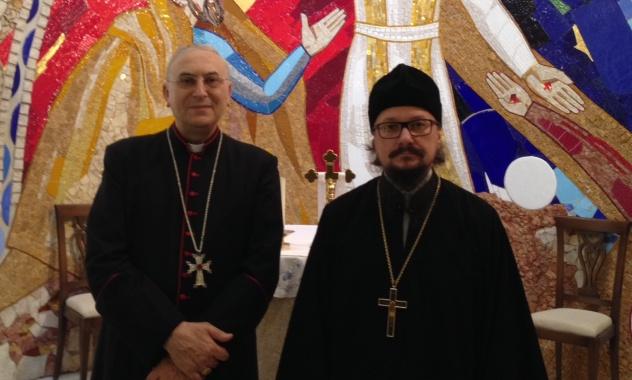 Представитель Патриарха Московского и всея Руси при Патриархе Великой Антиохии посетил представительство Ватикана в Дамаске