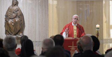Папа Франциск на Мессе в Доме Св. Марфы в праздник апостола Матфия: наша судьба — дружба с Иисусом