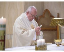 Папа Франциск на Мессе в Доме Св. Марфы говорил о подлинном и мнимом единстве