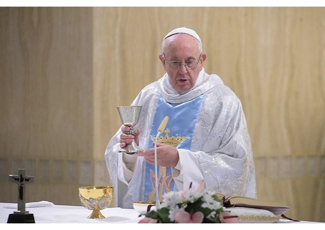 Папа Франциск на Мессе в Доме Святой Марфы указал на глубокую аналогию, связывающую образы Марии и Церкви
