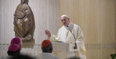 Папа Франциск на Мессе в Доме Св. Марфы размышлял об отличительных чертах христианской радости
