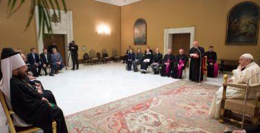 Папа Франциск встретился с делегацией Московского Патриархата