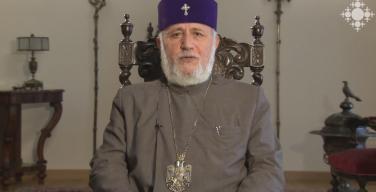 Католикос всех армян призвал своих оппонентов воздержаться от провокаций и не устраивать акций с требованием его отставки в праздничный день