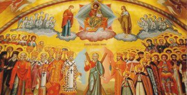 Воскресенье Всех Святых, в земле Российской просиявших