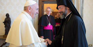 Папа — Вселенскому Патриархату: Церковь преображает мир
