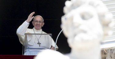 Слово Папы Франциска перед молитвой «Ангел Господень» в торжество Рождества Святого Иоанна Крестителя. 24 июня 2018 г., площадь Св. Петра