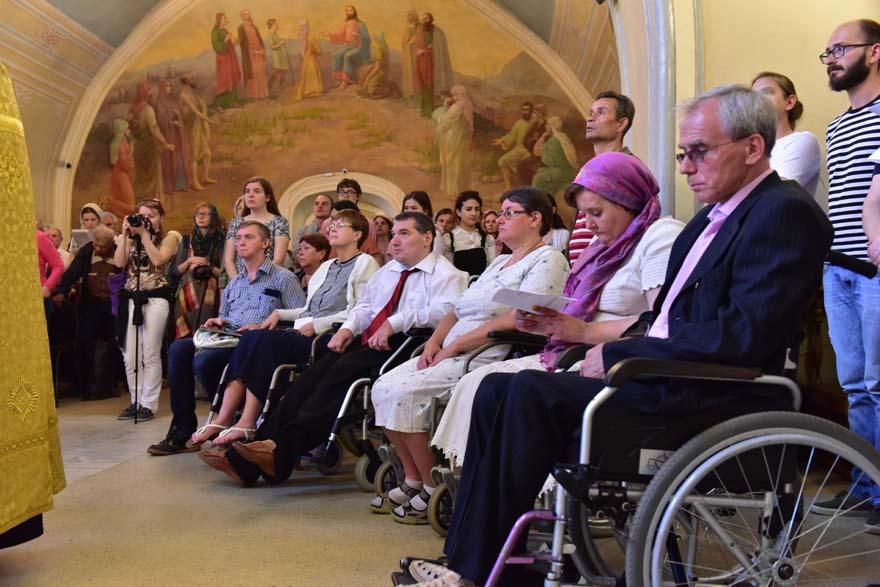 В Москве отметили 50-летие Общины святого Эгидия