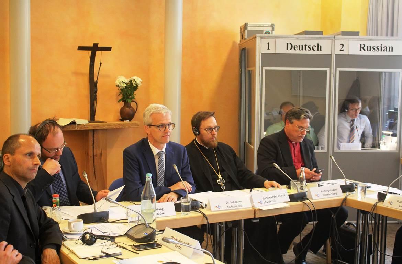 В Виттенберге состоялось заседание рабочей группы «Церкви в Европе» российско-германского форума «Петербургский диалог»