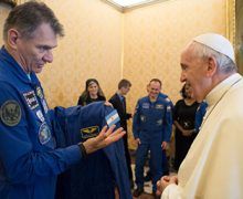 Некоторые подробности встречи Папы Франциска с космонавтами-участниками 53-й долговременной экспедиции МКС