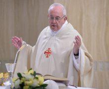 В торжество Святейшего Сердца Иисуса Папа Франциск на Мессе в Доме Святой Марфы указал на первенствующее значение любви к нам Бога