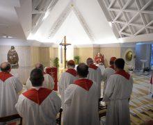 Папа Франциск на Мессе в Доме Св. Марфы говорил о трех аспектах евангелизации