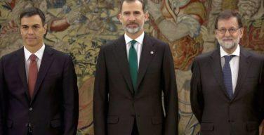 Новый премьер Испании принял присягу, но попросил убрать Библию и крест