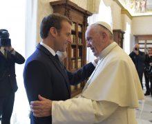 Папа встретился с президентом Франции