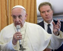 Папа Римский заявил, что путь к единству без России невозможен
