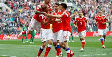 Лучший игрок матча Россия — Саудовская Аравия поблагодарил Бога за победу