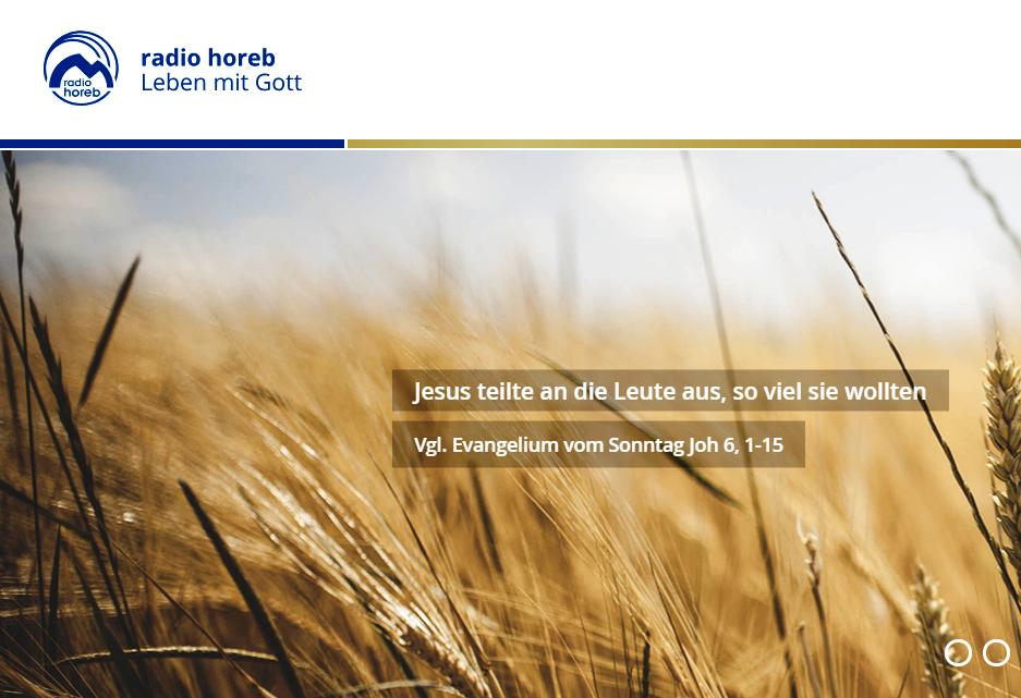 Епископ Иосиф Верт прочитает молитву «Ангел Господень» в прямом эфире немецкой радиостанции