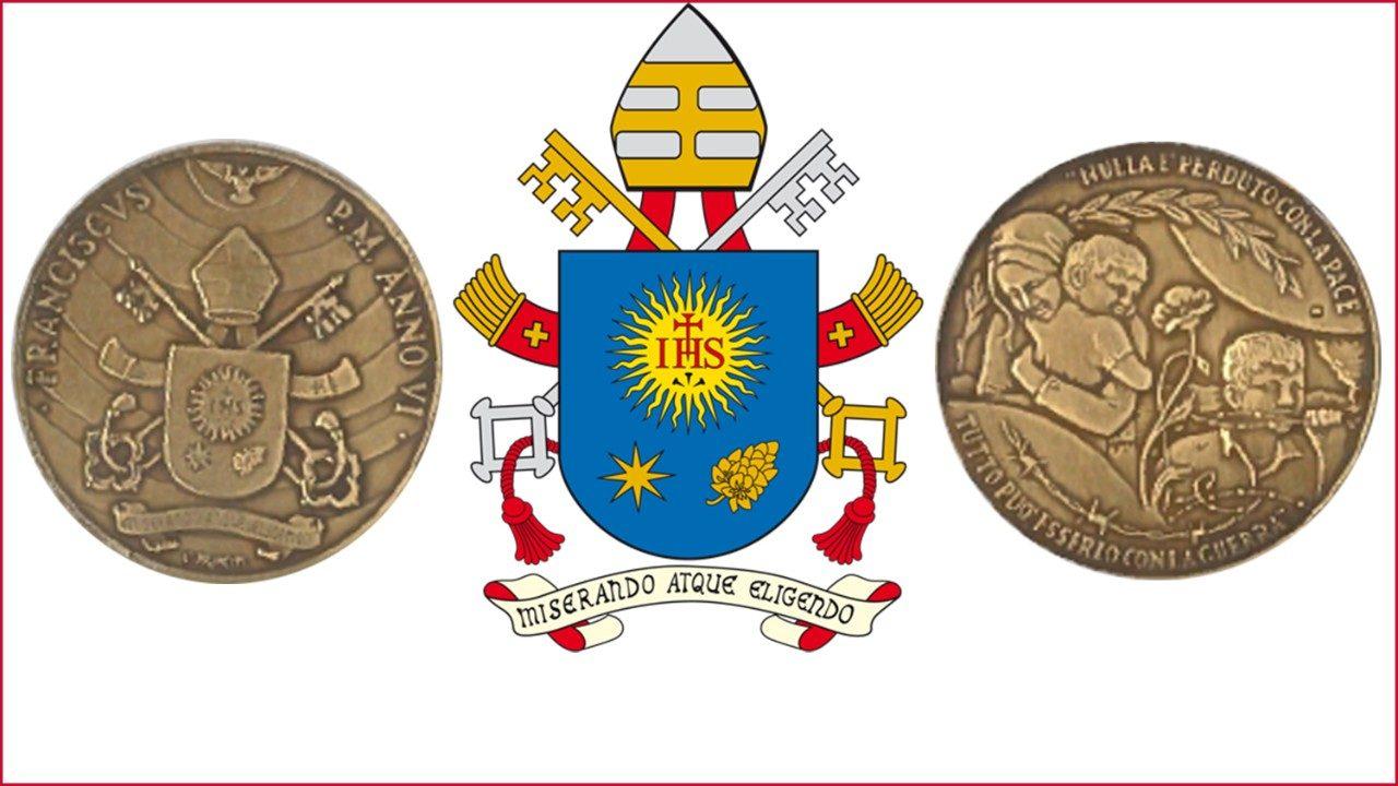 Выпущена памятная медаль 6-го года понтификата Папы Франциска