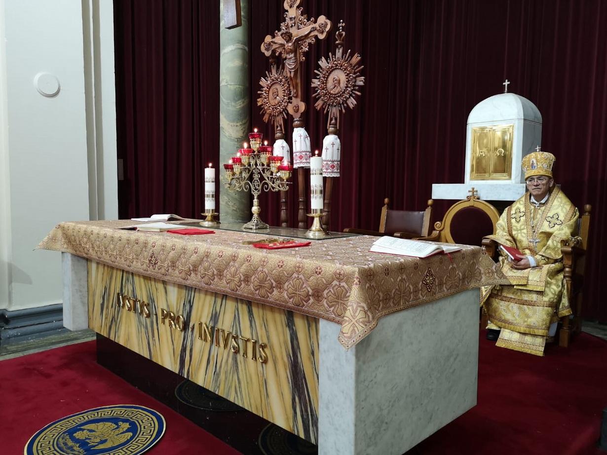 Владыка Иосиф Верт отслужил в Дублине Божественную Литургию Иоанна Златоуста