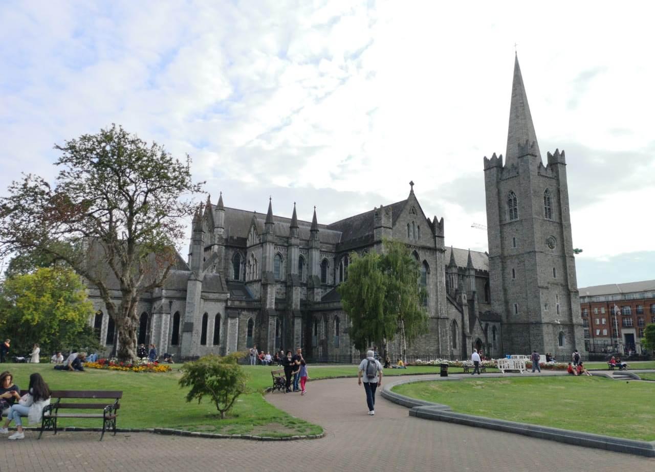 На земле Святого Патрика: первые фото из Дублина