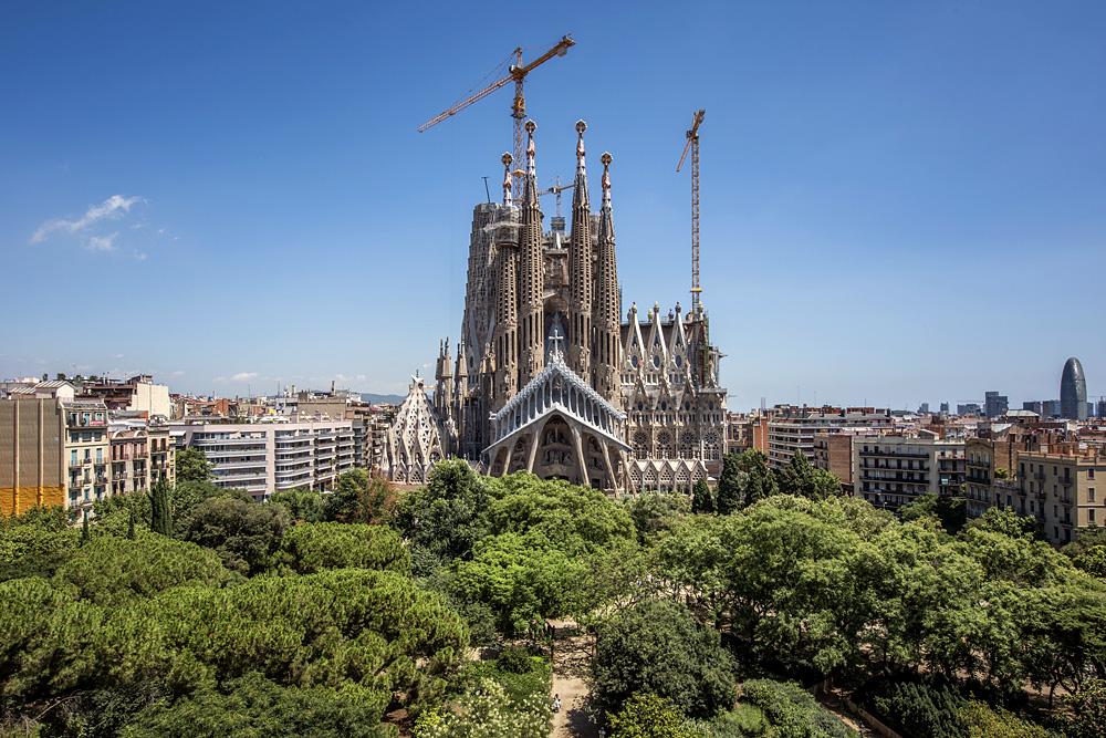 Собор Саграда Фамилия будет полностью достроен к 2026 году