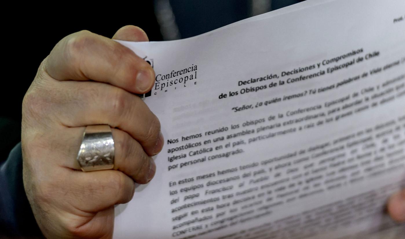 Папа одобрил документ чилийских епископов о борьбе с педофилией