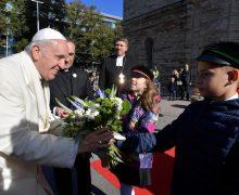 Папа заверил эстонскую молодёжь в близости Церкви (+ ФОТО)