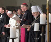 Папа: «живой экуменизм» — отличительная черта Латвии (+ ФОТО)