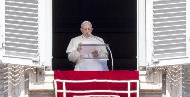 Слово Папы Франциска перед чтением молитвы «Ангел Господень» в 22-е Рядовое воскресенье. 2 сентября 2018 г., площадь Св. Петра