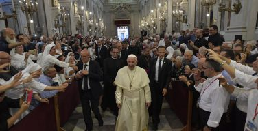 Папа встретился с сицилийским духовенством (+ ФОТО)