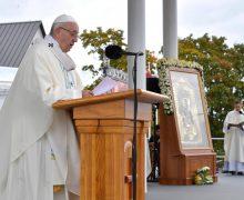 Проповедь Папы Франциска на св. Мессе в ходе его Апостольского визита в Латвию, 24 сентября 2018 г., Святилище Девы Марии в Аглоне