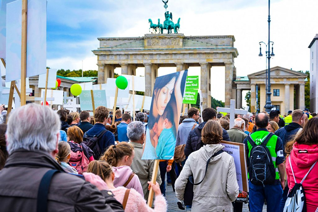 В Берлине в 14-й раз прошел «Марш за жизнь»