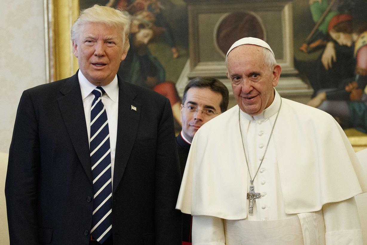 Дональд Трампвыразил свою поддержку Папе Франциску