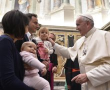 Папа: нежность – это излияние в мир Божьей любви