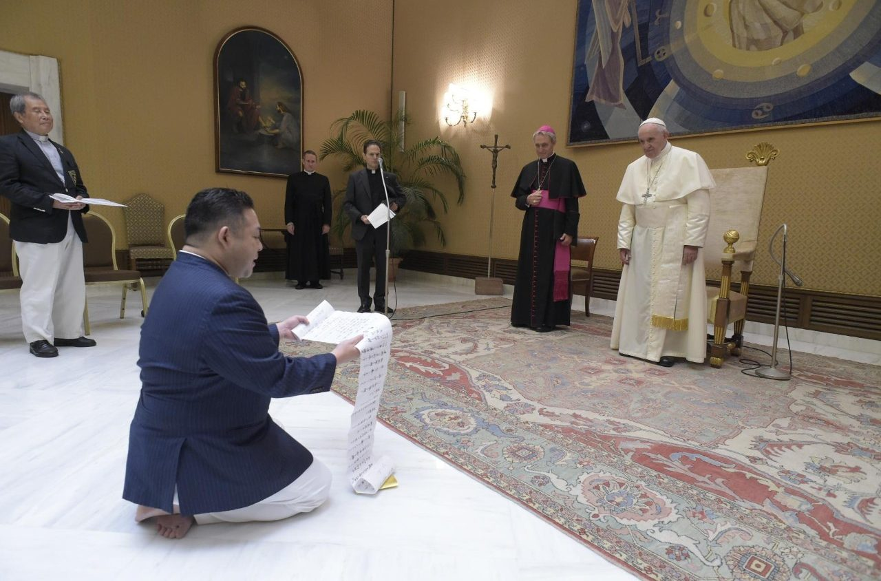 Папа Франциск объявил о своем намерении посетить Японию (ФОТО)