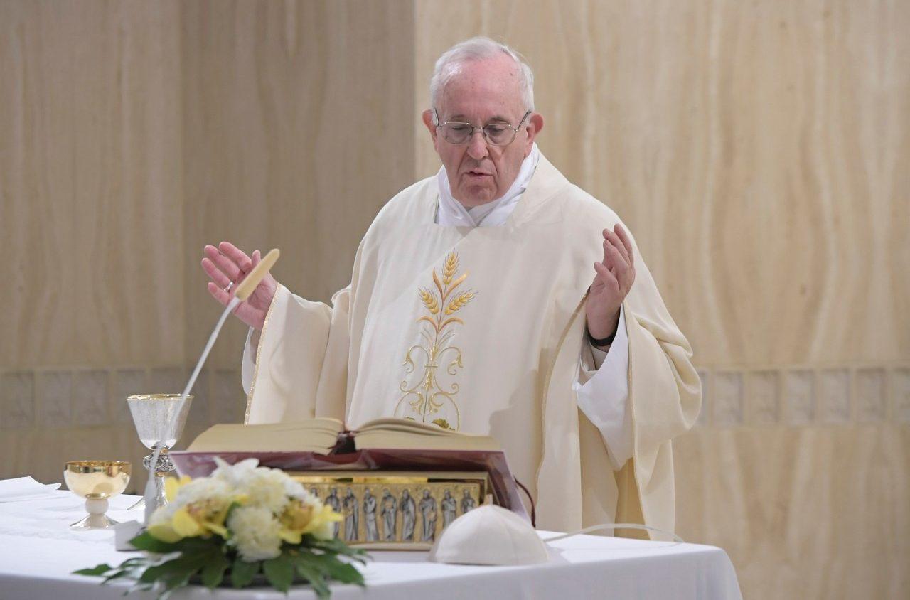 Папа: истина не поднимает шума