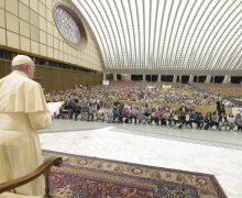 Папа встретился с Итальянской ассоциацией родителей (+ ФОТО)