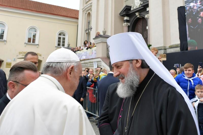 Папа Римский заявил, что католики и православные очень близки