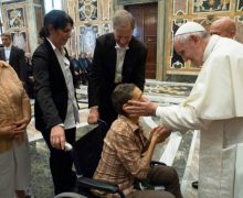 Папа на встрече с Итальянской ассоциацией инвалидов труда (ФОТО + ВИДЕО)