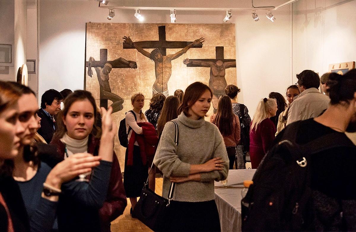 Церковная живопись и современное искусство на выставке «В поисках утраченной середины» (ФОТО)