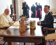 Папа Франциск встретился с президентом Южной Кореи