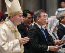 Госсекретарь Ватикана возглавил Мессу о мире на Корейском полуострове
