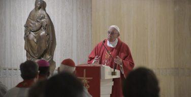На Мессе в праздник Св. Евангелиста Луки Папа Франциск рассуждал о различных формах бедности