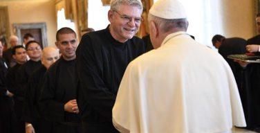 Папа Франциск призвал монашествующих быть там, где люди чувствуют отсутствие Бога